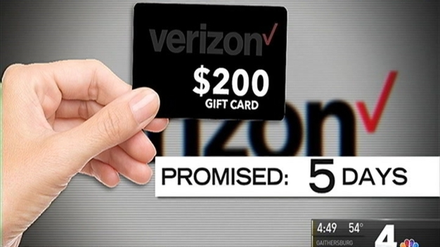 Verizon Didn't Deliver $200 Gift Card Offered for Switching Cellphone Carriers