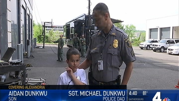 Kids to Work: A Special Day for Alexandria Police