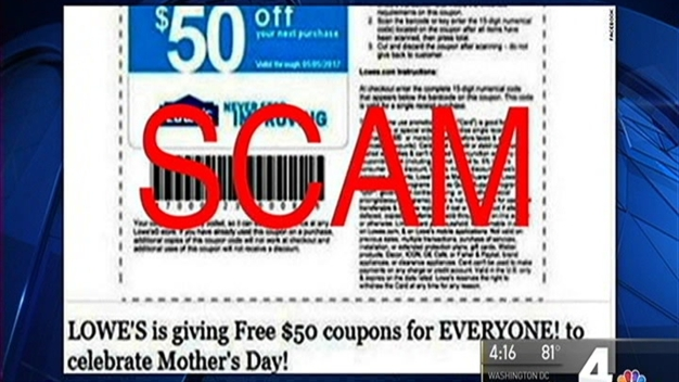 Mother's Day Scam Claims to Offer Big Discounts
