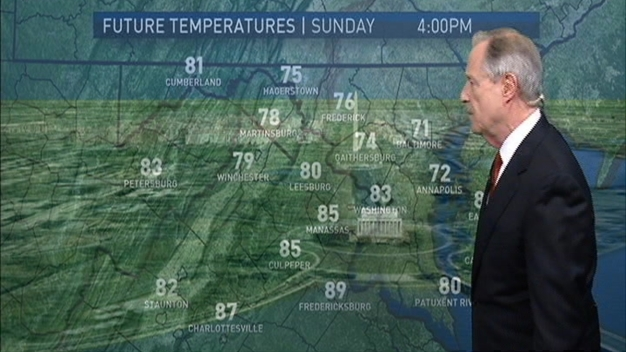 Morning Weather, April 30, 2017