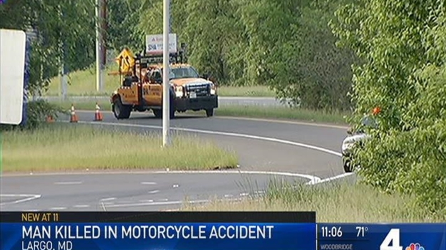 DC Man Killed in Motorcyle Crash