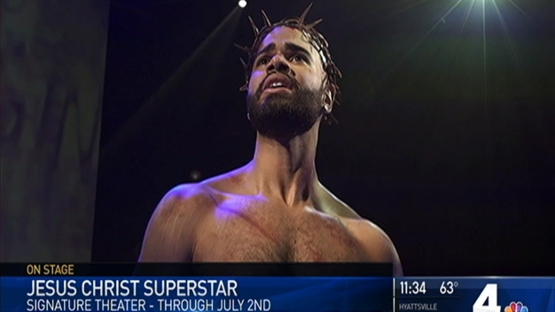 Jesus Christ Superstar Playing at Signature Theatre