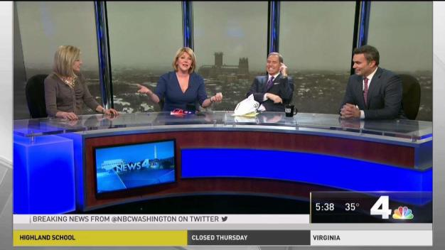 News4 Surprises Wendy Rieger After 30 Years With Station