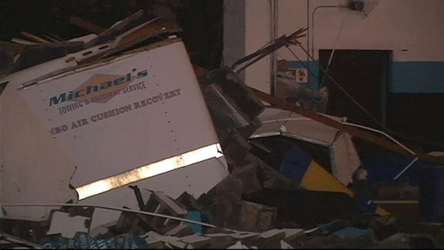 Raw Video: Spotsylvania Storm Damage