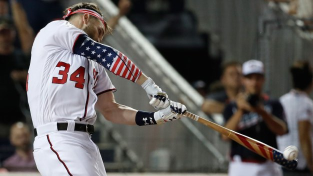 Bryce Harper Wins Home Run Derby at Nationals Park