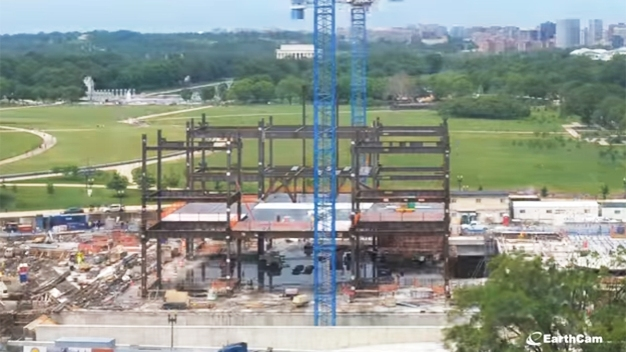 Timelapse: 52 Months of Museum Construction