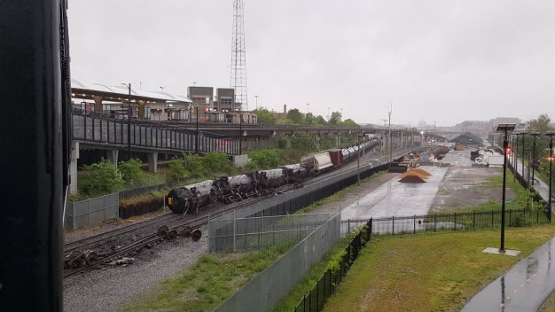 CSX: Three Different Chemicals Leaked After Train Derailment