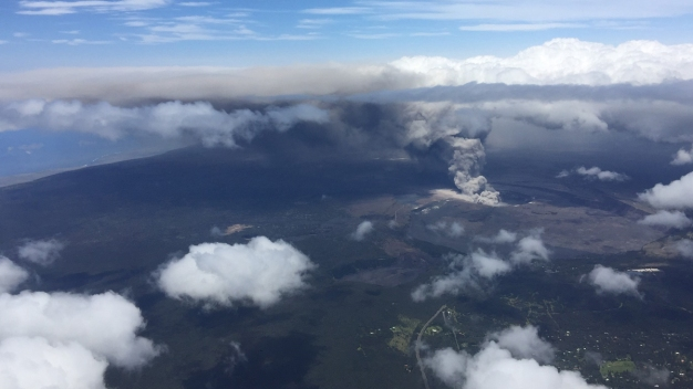NOAA Monitors Kilauea Ash Cloud for Air Traffic Safety