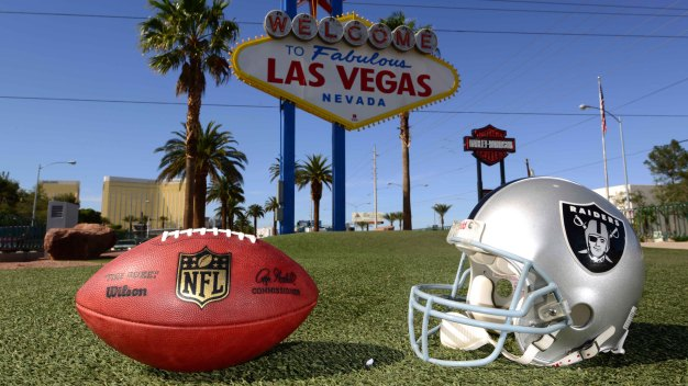 Raiders File Papers to Move From Oakland to Las Vegas