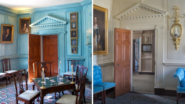 Room Transformed at Mount Vernon After Historical Info Found