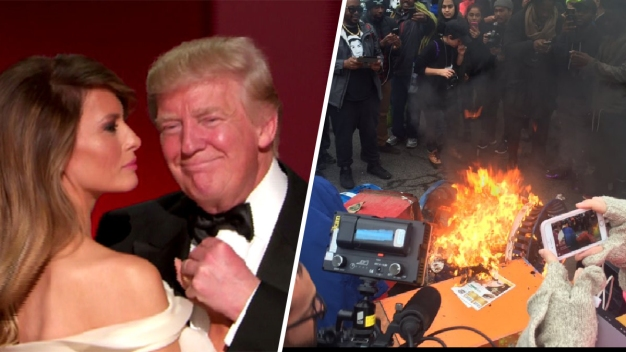 From Protests to Pomp: Dramatic Moments of Inauguration Day