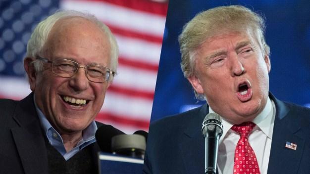 Bernie Sanders, Donald Trump Winners in N.H.