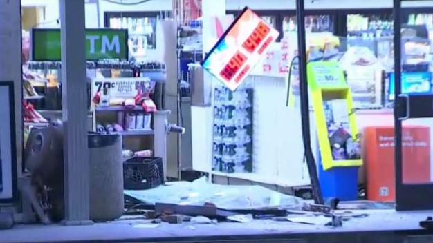 Thieves Slam Truck into Lanham 7-Eleven, Steal ATM