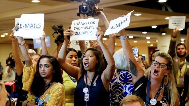 DNC Convention Day 1: Wasserman Schultz Heckled