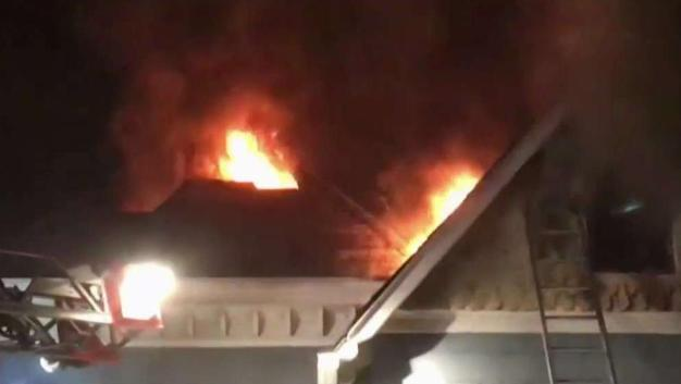 DC Fire Says Illegal Fireworks Caused House Fire