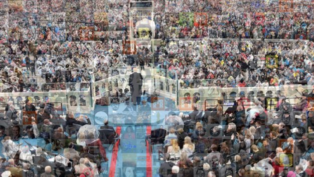 Inauguration Mosaic: Social Posts from the National Mall