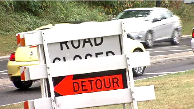 Beach Drive Partially Closed for Construction Project