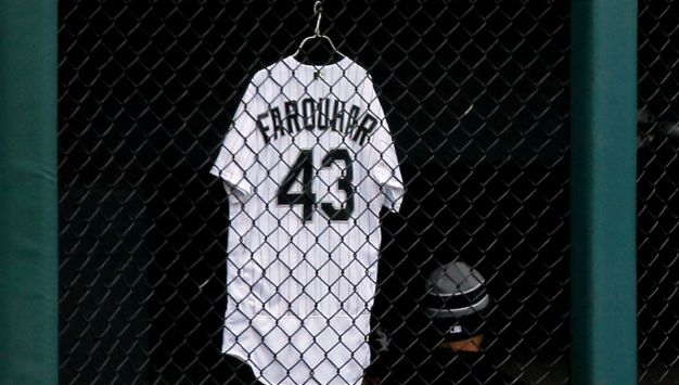 White Sox Honor Pitcher Who Suffered Brain Hemorrhage With Touching Tributes