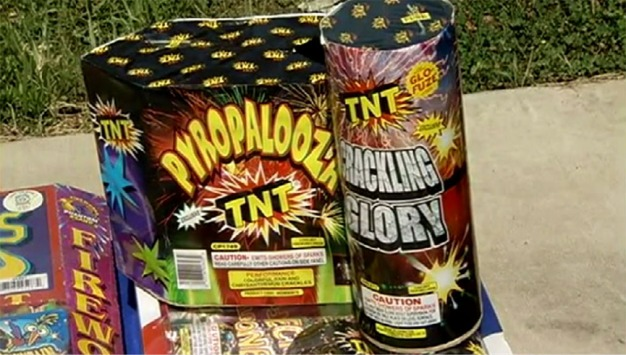 Local Authorities on Lookout for Illegal Fireworks