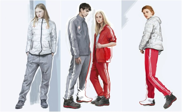 Russians to Get 'Neutral' Gray, Red Uniforms for Olympics