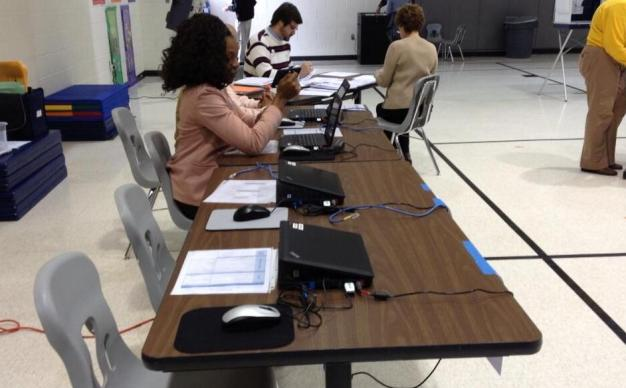 No Voters Turned Away During Tech Problem