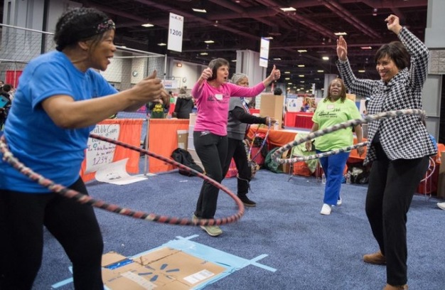2019 Photos: NBC4 Telemundo 44 Health & Fitness Expo}