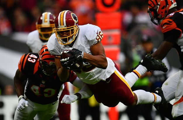 Redskins' Gruden Says Reed's Toe Injury Is Not Serious