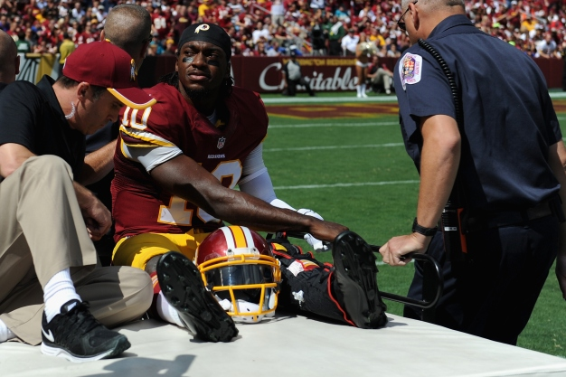 RGIII's Ankle Cast Up for Auction