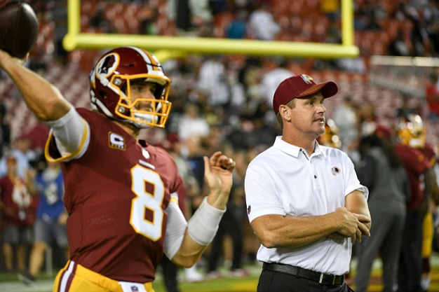 Judging Jay Gruden, Kirk Cousins Isn't Always Logical