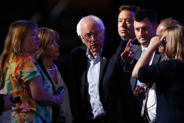 Sanders Calls for Calm Amid DNC Email Controversy