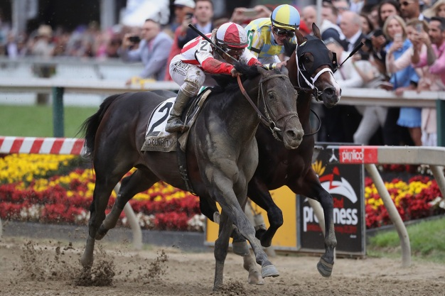 Photos: Cloud Computing's Comeback Win at Preakness