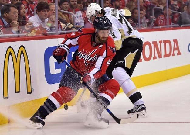 Capitals' Orpik Has Hearing for Late Hit to Maatta' Head