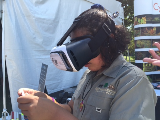 NPS Celebrates 100 Years With Virtual Reality