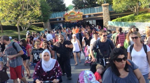 Disneyland's Toontown Area Evacuated After Loud Explosion