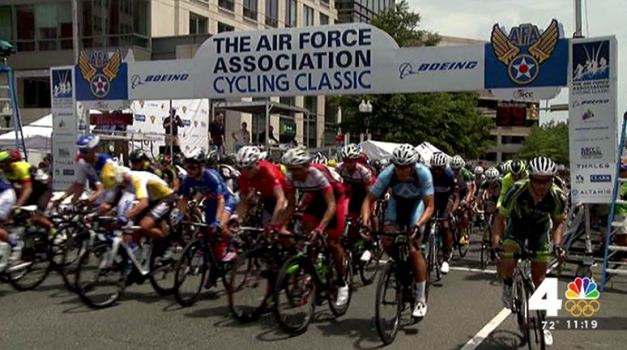 Air Force Cycling Classic in Clarendon Saturday