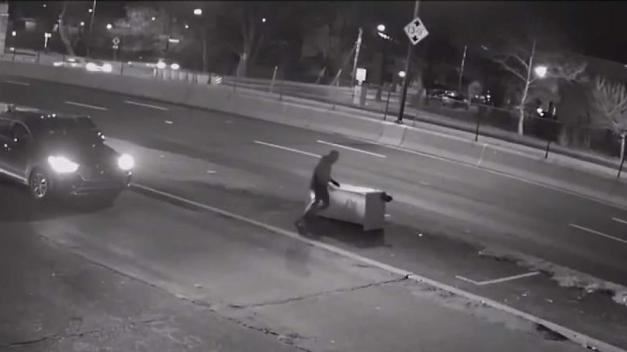 Video Shows Suspect Tearing Up DC Speed Camera