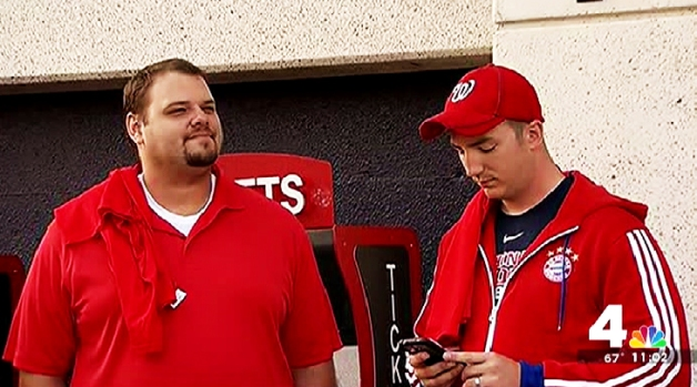 [DC] Pumped 4 the Pennant: Excitement at Nats Park