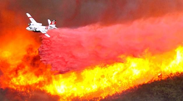 Dramatic Photos: Santa Barbara Firestorm