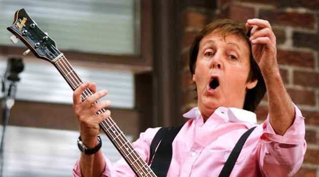 McCartney Performs Where Beatles Made TV Debut