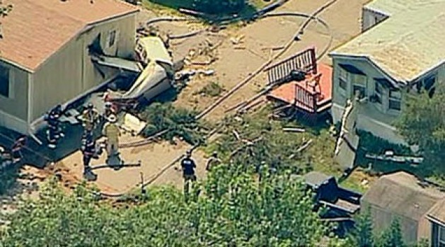 [DC] Small Plane Crashes Into Home in Anne Arundel