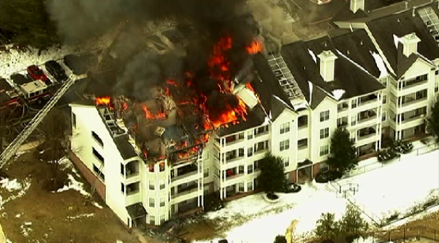 3-Alarm Odenton Apartment Fire