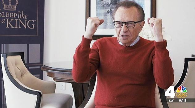 Diehard Caps Fan Larry King: 'Red Through and Through'