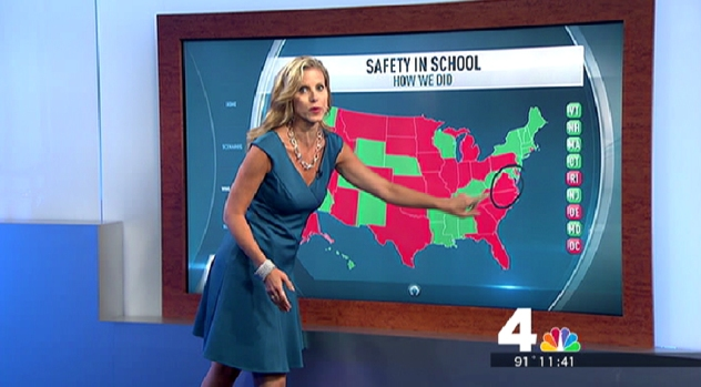 [DC] School Safety: DC, Va. Schools Not Prepared for Disaster, Group Says