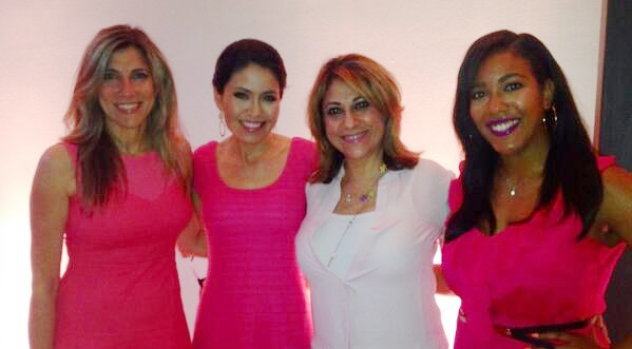 Newsbabes Team Up in Fight Against Breast Cancer