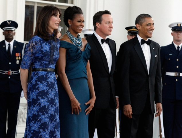 Pics: Inside the State Dinner for Prime Minister David Cameron
