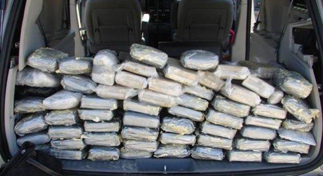 Pot Smuggled in Minivan