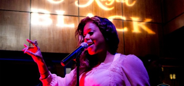 Chrisette Michele Performs at The Park