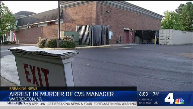 Employee at Virginia CVS Charged With Killing Manager | NBC4