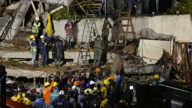 Body Found at Collapsed Mexico School Where Girl Is Trapped