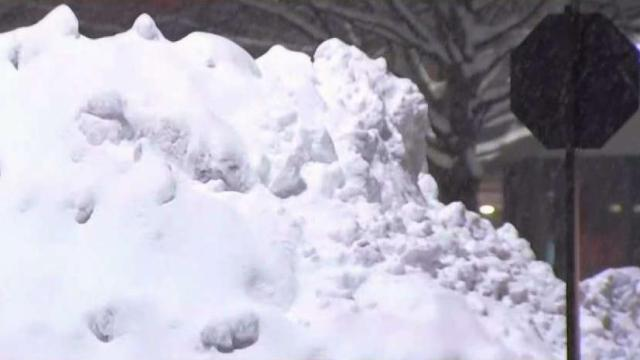 Almost a Foot of Snow Falls in Montgomery County